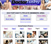 Doctor Tushy Exam